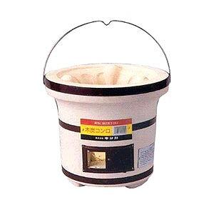 Briquette, clay charcoal stove