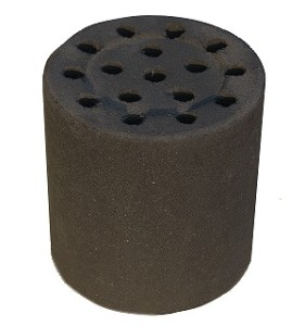 Briquette, clay charcoal stove2