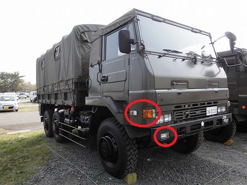 陸上自衛隊車両 73式トラック 3...