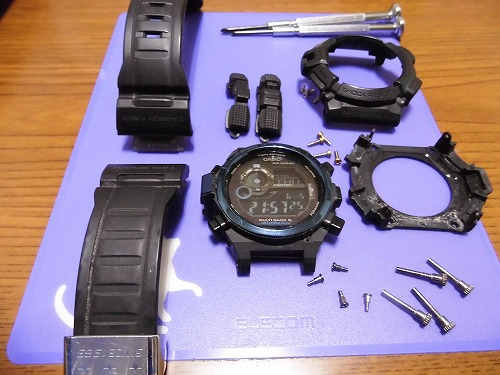 G shock maintenance56