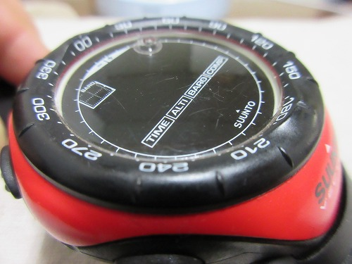 Suunto Vector polishing(2)
