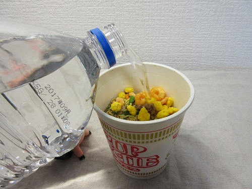 Cup noodle cooking water (3)